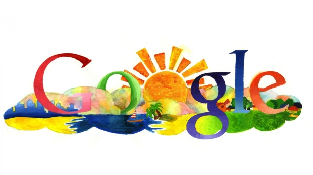 google_search_logo_summer_drawing_26168_1920x1080